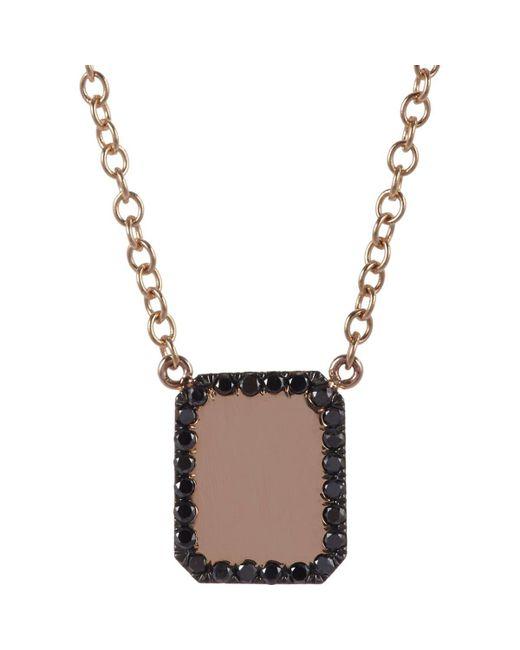 Finn - Multicolor Black Diamond & Rose Gold Looking - Lyst