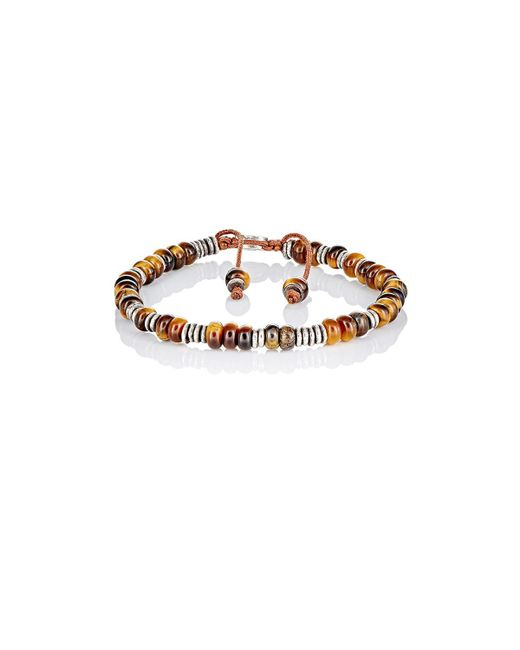 M. Cohen - Brown Beaded Bracelet - Lyst