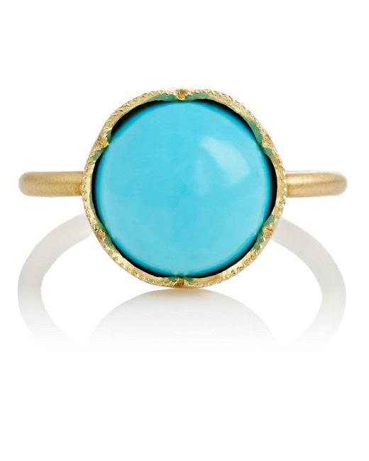 Irene Neuwirth | Blue Gemstone Ring | Lyst