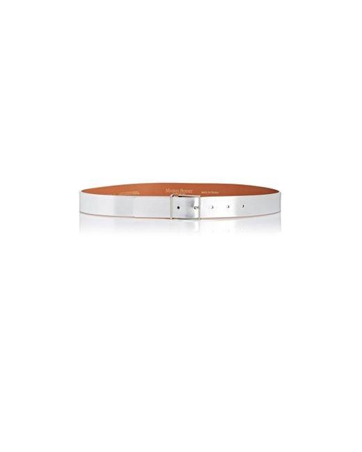 Maison Boinet - Metallic Leather Belt - Lyst
