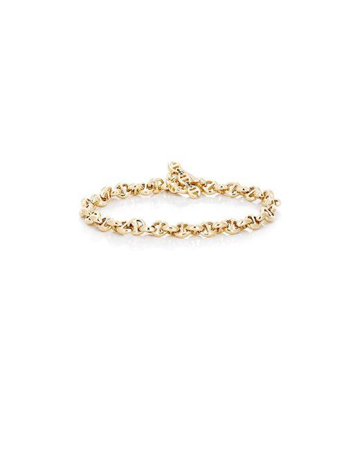 Hoorsenbuhs - Metallic Tri-link Chain Bracelet for Men - Lyst