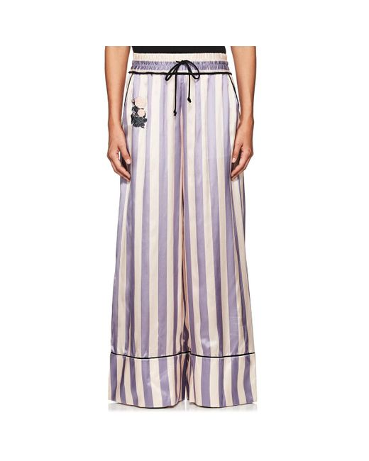 Off-White c/o Virgil Abloh | Multicolor Thedrop@barneys: Striped Satin Wide | Lyst