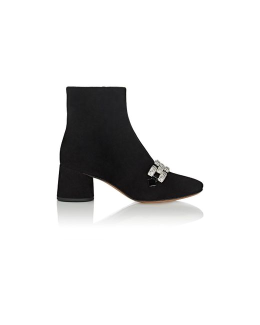 Marc Jacobs - Black Remi Chain-link Ankle Boots - Lyst