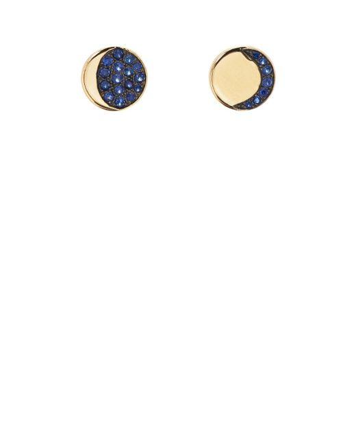 Pamela Love - Metallic Moon Phase Mismatched Stud Earrings - Lyst
