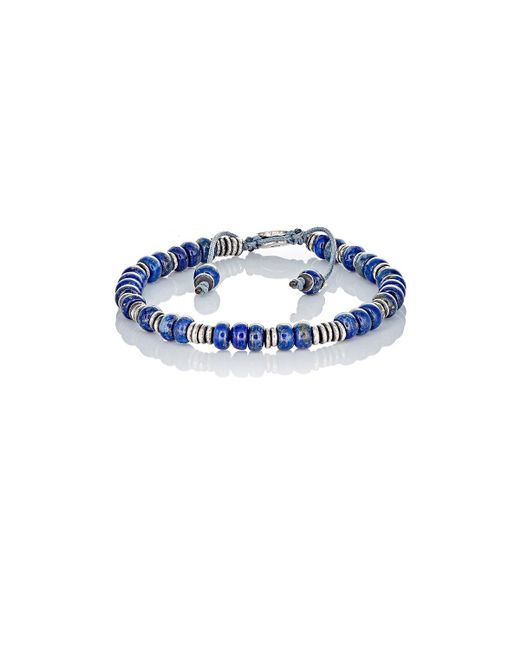 M. Cohen | Blue Beaded Bracelet | Lyst