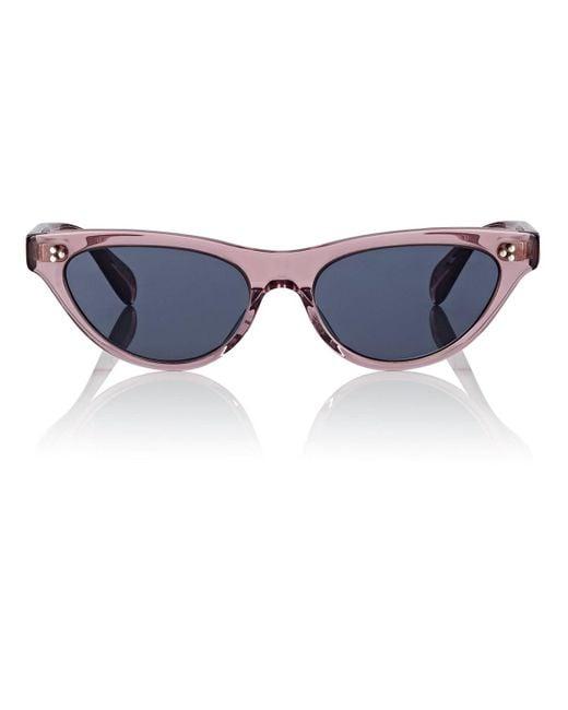 Oliver Peoples - Blue Zasia Sunglasses - Lyst