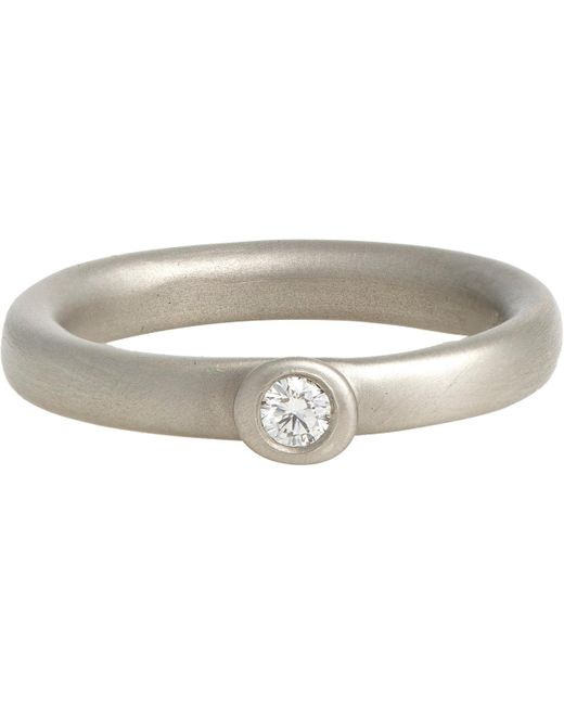 Linda Lee Johnson | Metallic Letitia Ring | Lyst