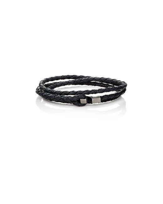 Miansai | Black Ipsum Wrap Bracelet for Men | Lyst