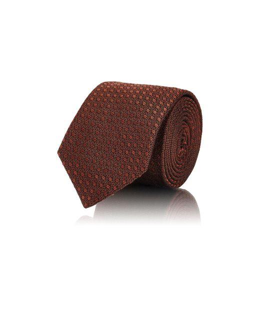 Barneys New York | Orange Oval-pattern Silk for Men | Lyst