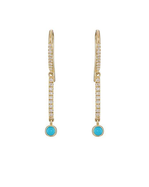 Jennifer Meyer - Metallic mini Stick Drop Earrings - Lyst