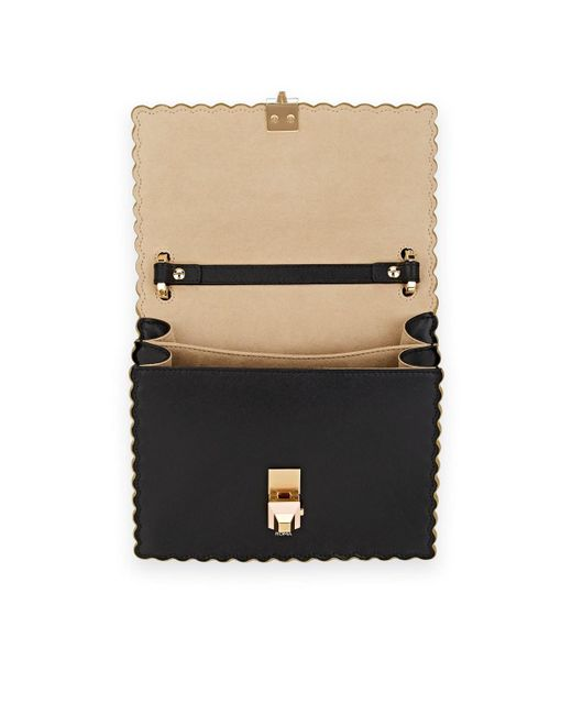 ... Fendi - Black Kan I Small Embossed Leather Shoulder Bag - Lyst ... 21a22b3a8c09a