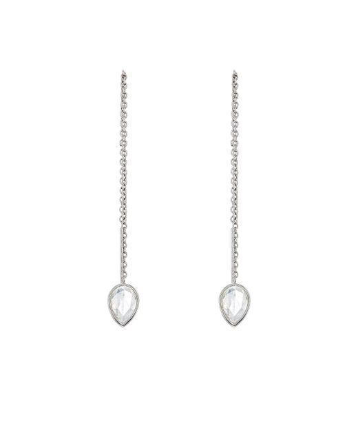 Finn | Metallic Teardrop Thread Earrings | Lyst