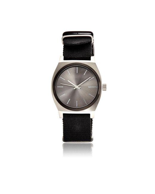 Nixon - Gray Time Teller Watch - Lyst