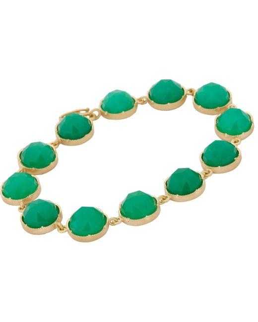 Irene Neuwirth | Green Gemstone Bracelet | Lyst