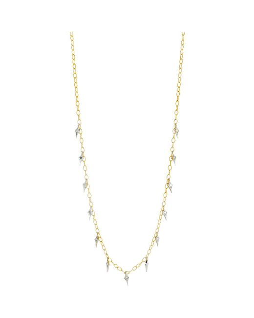Cathy Waterman | Metallic Charm Fringe Necklace | Lyst
