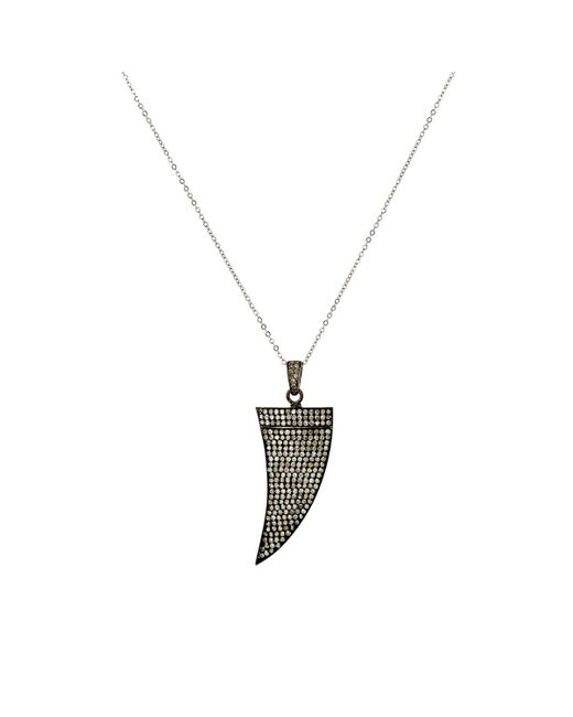 Feathered Soul | Metallic Claw Pendant Necklace | Lyst