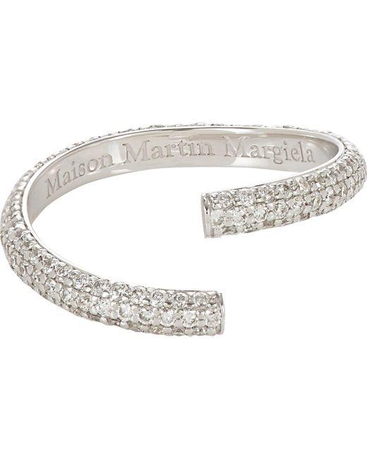 Maison Margiela   Metallic alliance Split Ring   Lyst