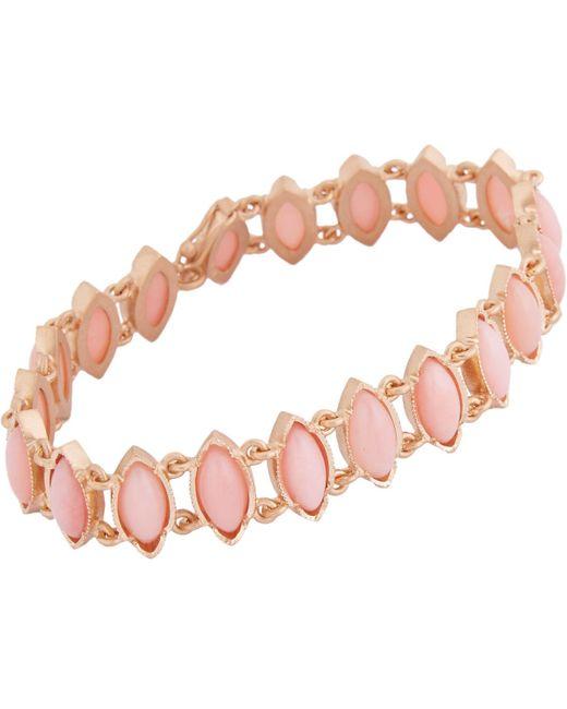 Irene Neuwirth   Pink Gemstone Bracelet   Lyst