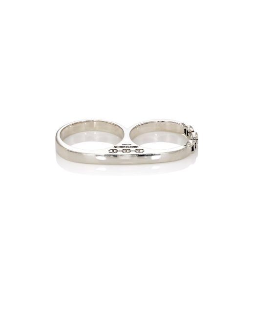 Hoorsenbuhs | Metallic Double Barrel Knuckle Ring for Men | Lyst