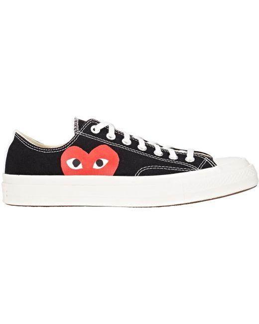 Comme des Garçons | White Comme Des Garçons Play Converse Chuck Taylor Play Low Top Sneakers | Lyst