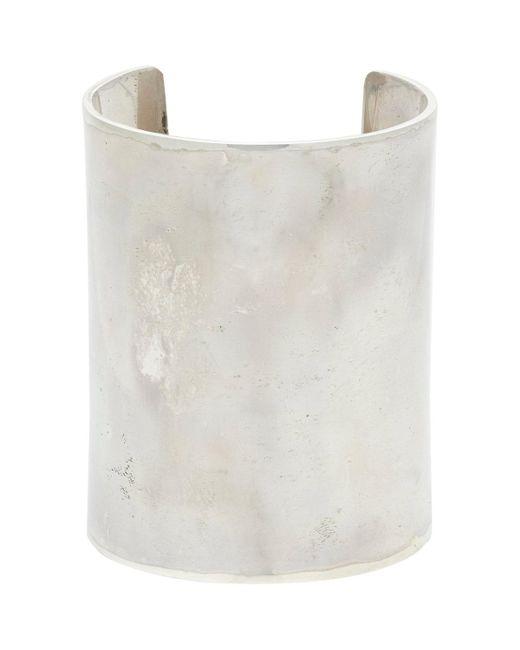 Spinelli Kilcollin | Metallic Sterling Silver wide Cuff for Men | Lyst