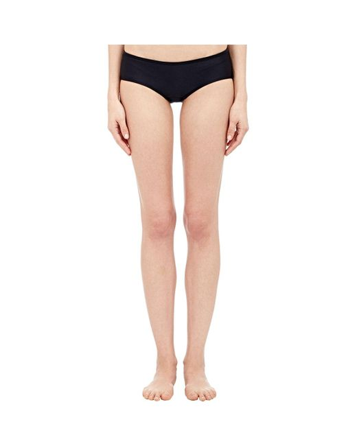 Yasmine Eslami | Black Low Rise Bikini Bottom | Lyst