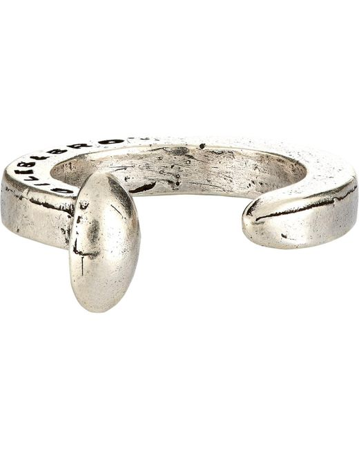 Giles & Brother | Metallic Railroad Spike Ring for Men | Lyst
