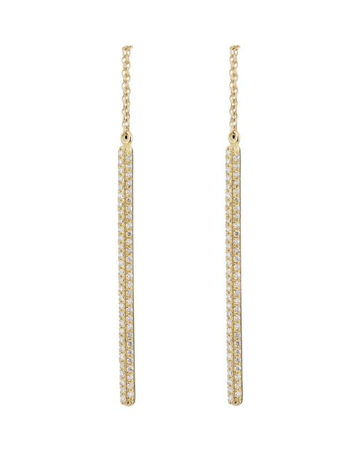 Ileana Makri | Metallic Bull Bar Drop Earrings | Lyst