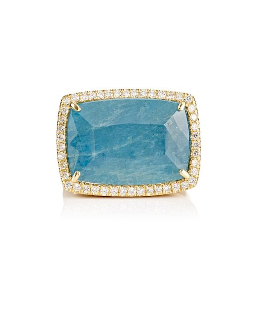 Irene Neuwirth | Metallic Gemstone Cocktail Ring | Lyst
