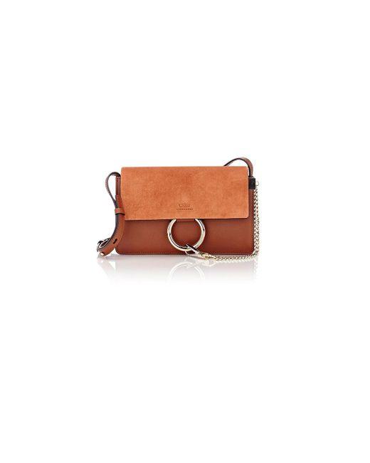 Chloé | Brown Faye Small Shoulder Bag | Lyst