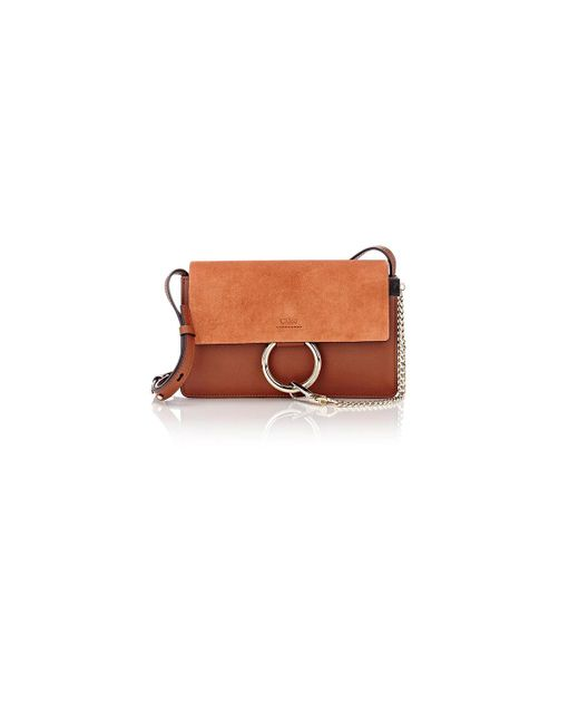 Chloé | Brown Faye Small Shoulder Bag | Lyst