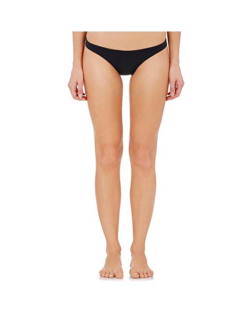 Flagpole Swim | Black Barkley Bikini Bottom | Lyst