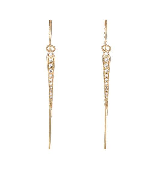 Tilda Biehn | Metallic Comet Drop Earrings | Lyst