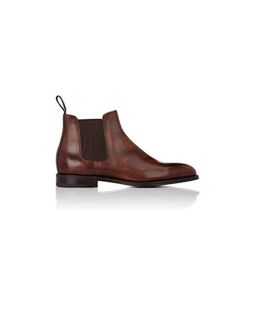 John Lobb Lawry Chelsea Boots In Brown For Men Save 18