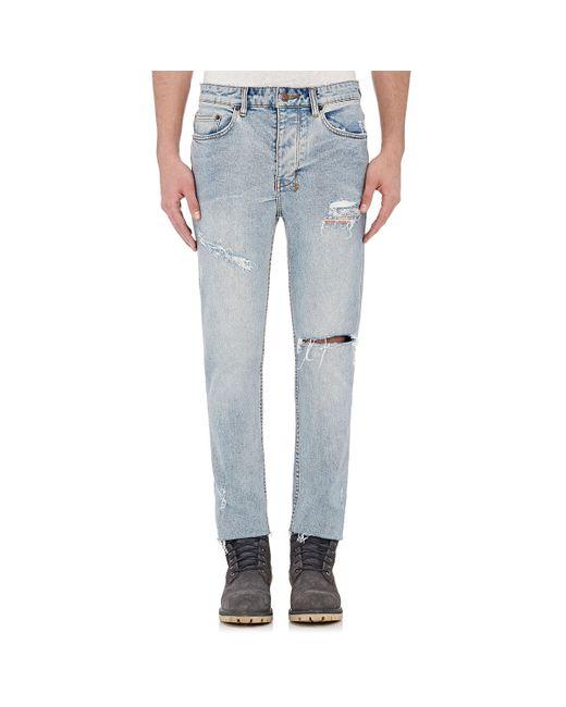 Ksubi   Blue Chitch Chop Slim Jeans for Men   Lyst