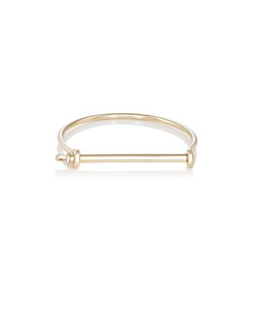 Miansai | Metallic Screw Cuff Bracelet | Lyst