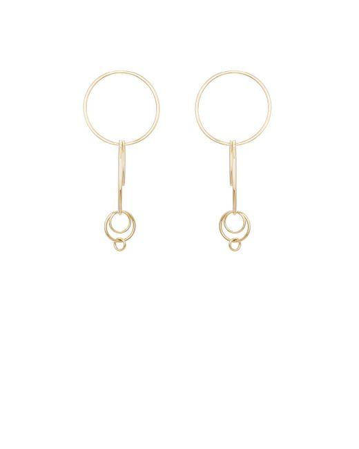 Jennifer Fisher | Metallic Xl Multi Hoop Earrings | Lyst