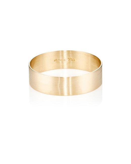 Shihara | Metallic Plate Ring | Lyst
