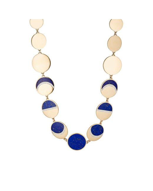 Pamela Love   Metallic Moon Phase Collar Necklace   Lyst