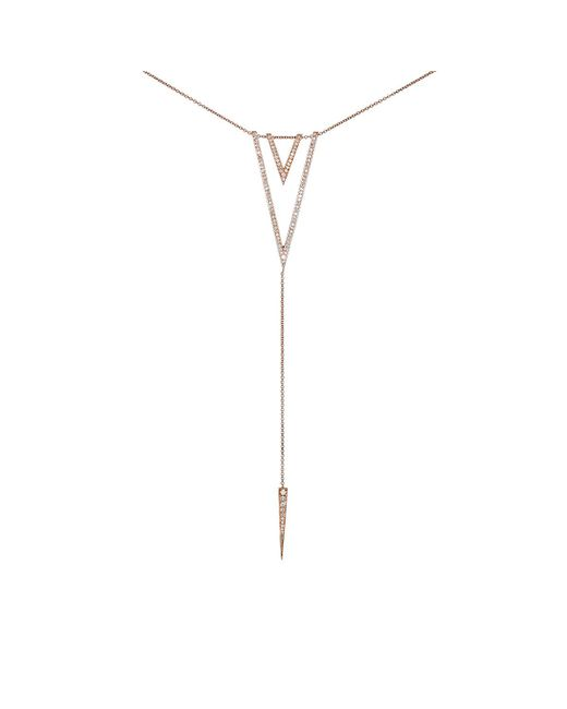 Carbon & Hyde | Metallic Cleo Necklace | Lyst