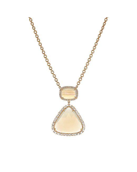 Irene Neuwirth | Metallic Geometric Pendant Necklace | Lyst