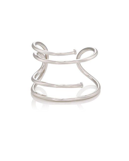 Jennifer Fisher | Metallic Large Pipe Cuff | Lyst