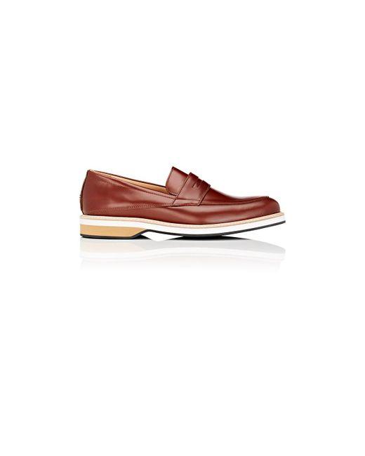 Want Les Essentiels De La Vie | Brown Marcos Penny Loafers for Men | Lyst