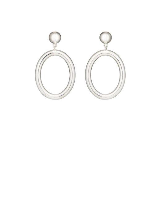 Agmes | Metallic Metzner Drop Earrings | Lyst