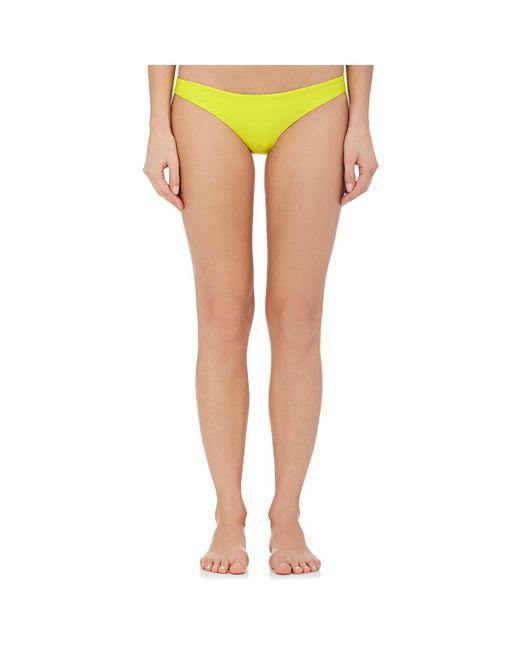 Mikoh Swimwear   Yellow Zuma Bikini Bottom   Lyst