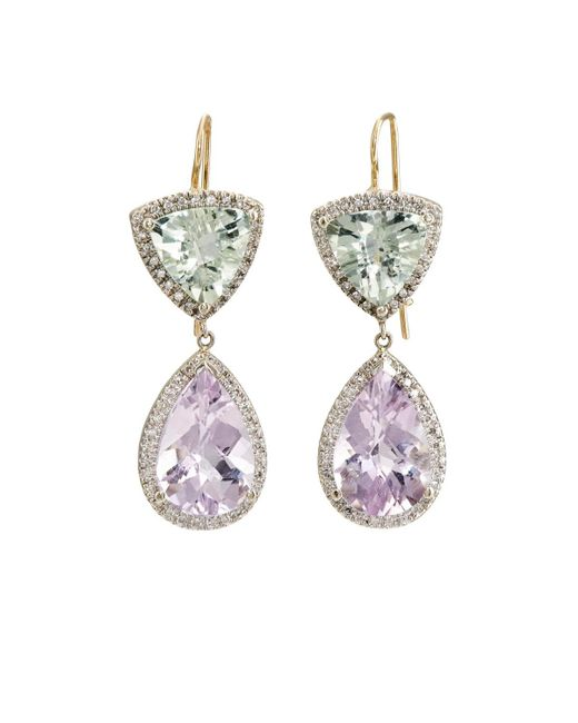 Renee Lewis | Purple Mixed-gemstone Double | Lyst