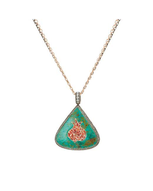 Sevan Biçakci | Multicolor Triangular Pendant Necklace | Lyst