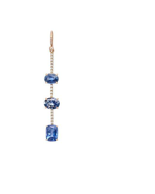 Irene Neuwirth   Blue Diamond & Sapphire Drop Earring   Lyst