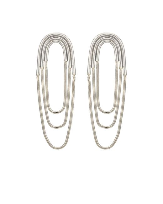 Pamela Love | Metallic Small Iris Earrings | Lyst