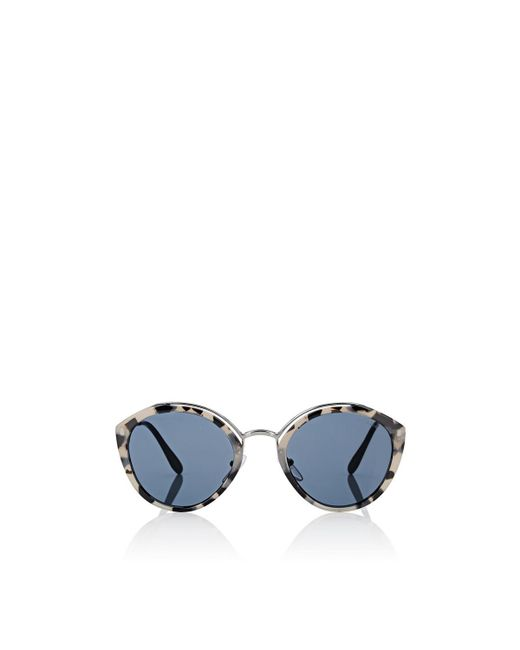 Prada - Blue Pantos Sunglasses - Lyst